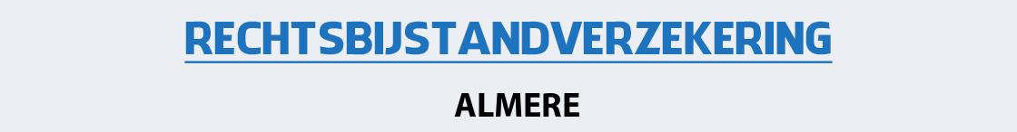 rechtsbijstandverzekering-almere