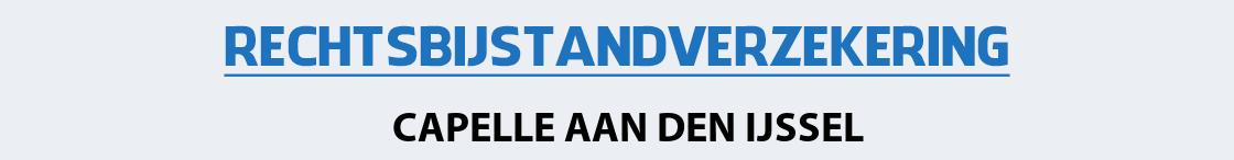 rechtsbijstandverzekering-capelle-aan-den-ijssel