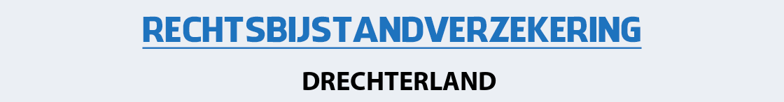 rechtsbijstandverzekering-drechterland