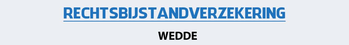rechtsbijstandverzekering-wedde